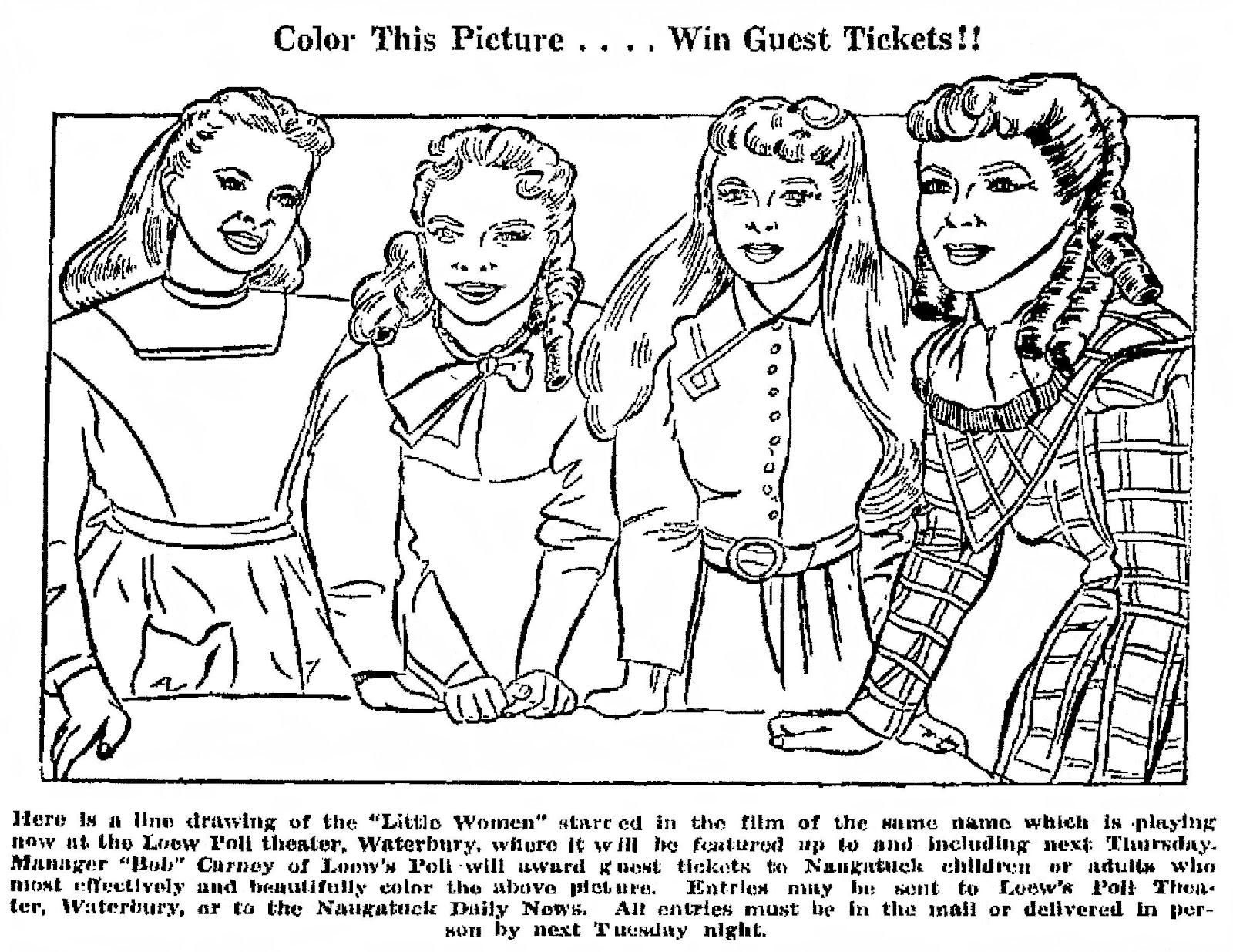 Women coloring #1