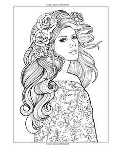 Women coloring #13, Download drawings
