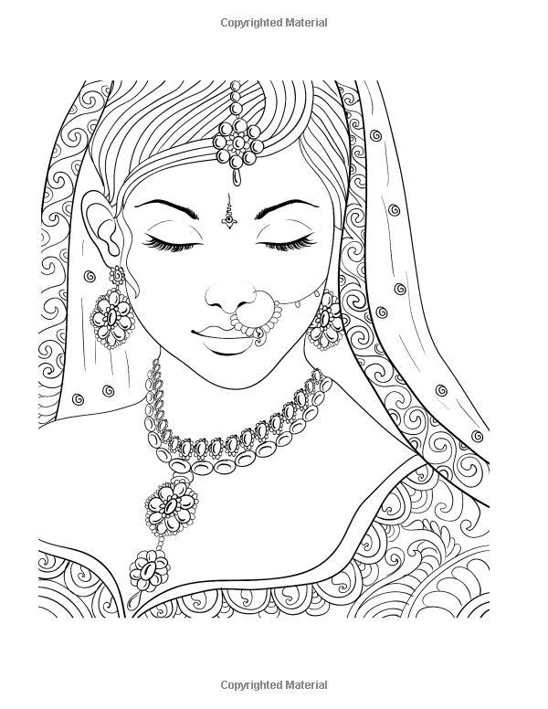 Women coloring #16