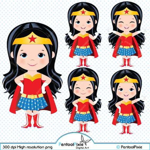 Wonder Woman clipart #9, Download drawings