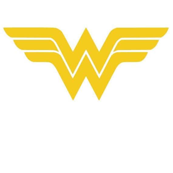 wonder woman logo svg #681, Download drawings
