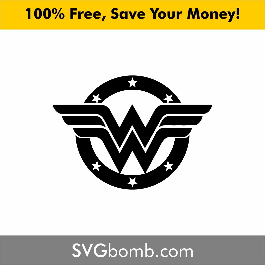 wonder woman logo svg #680, Download drawings