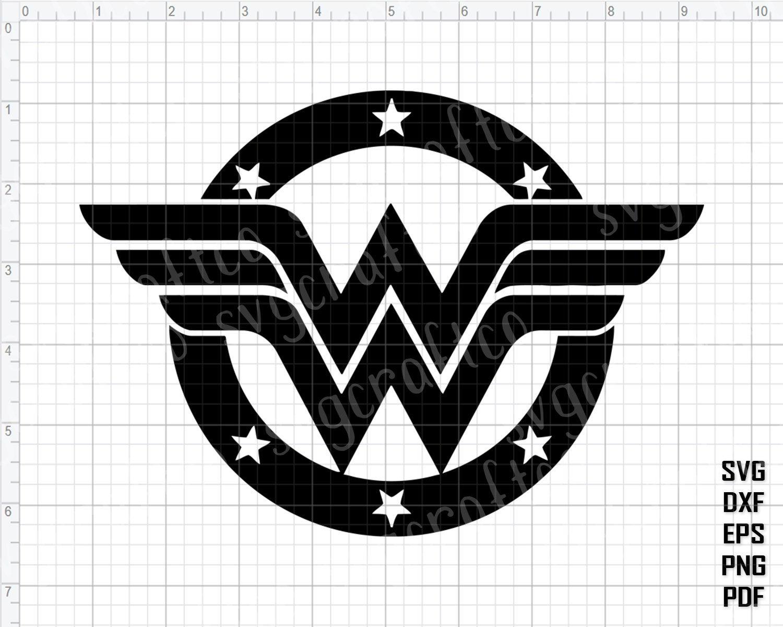 wonder woman logo svg #679, Download drawings