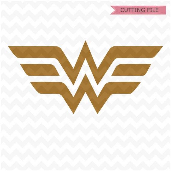 wonder woman logo svg #667, Download drawings