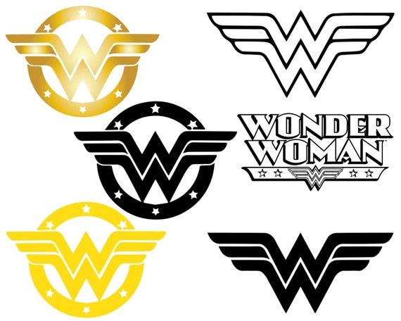 wonder woman logo svg #678, Download drawings
