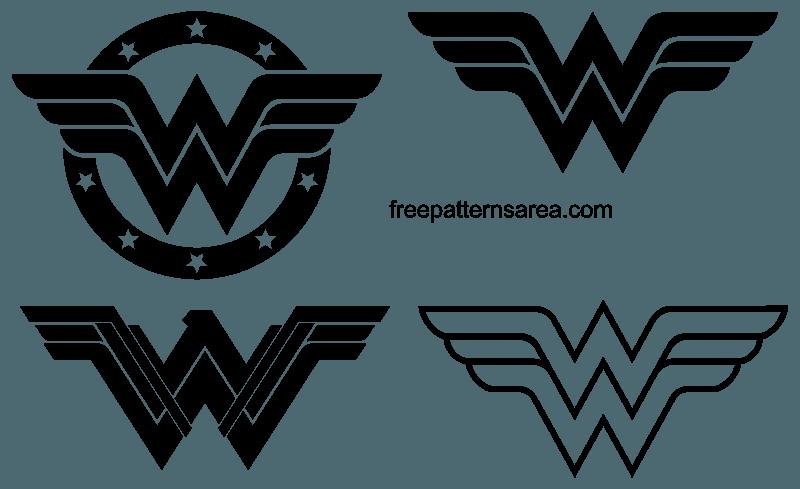 wonder woman logo svg #682, Download drawings