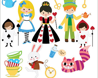 Wonderland clipart #2, Download drawings