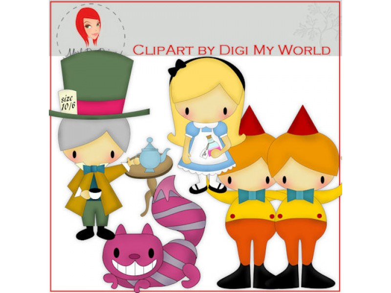 Wonderland clipart #5, Download drawings