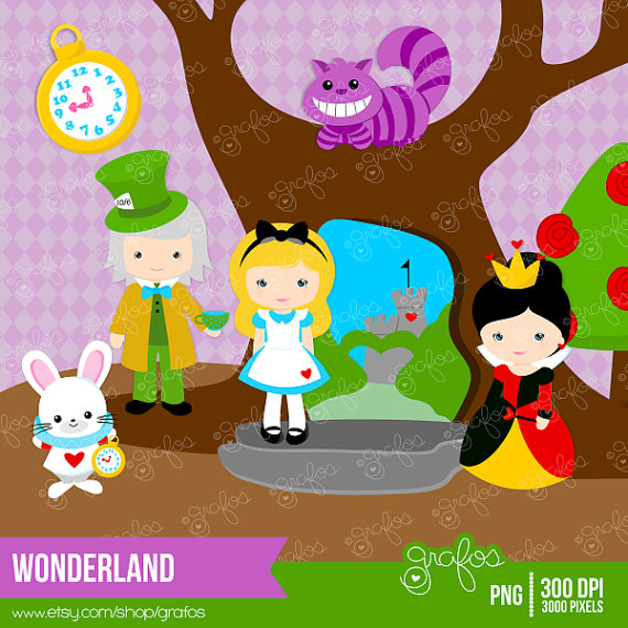 Wonderland clipart #14, Download drawings