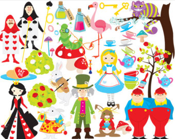 Wonderland clipart #1, Download drawings