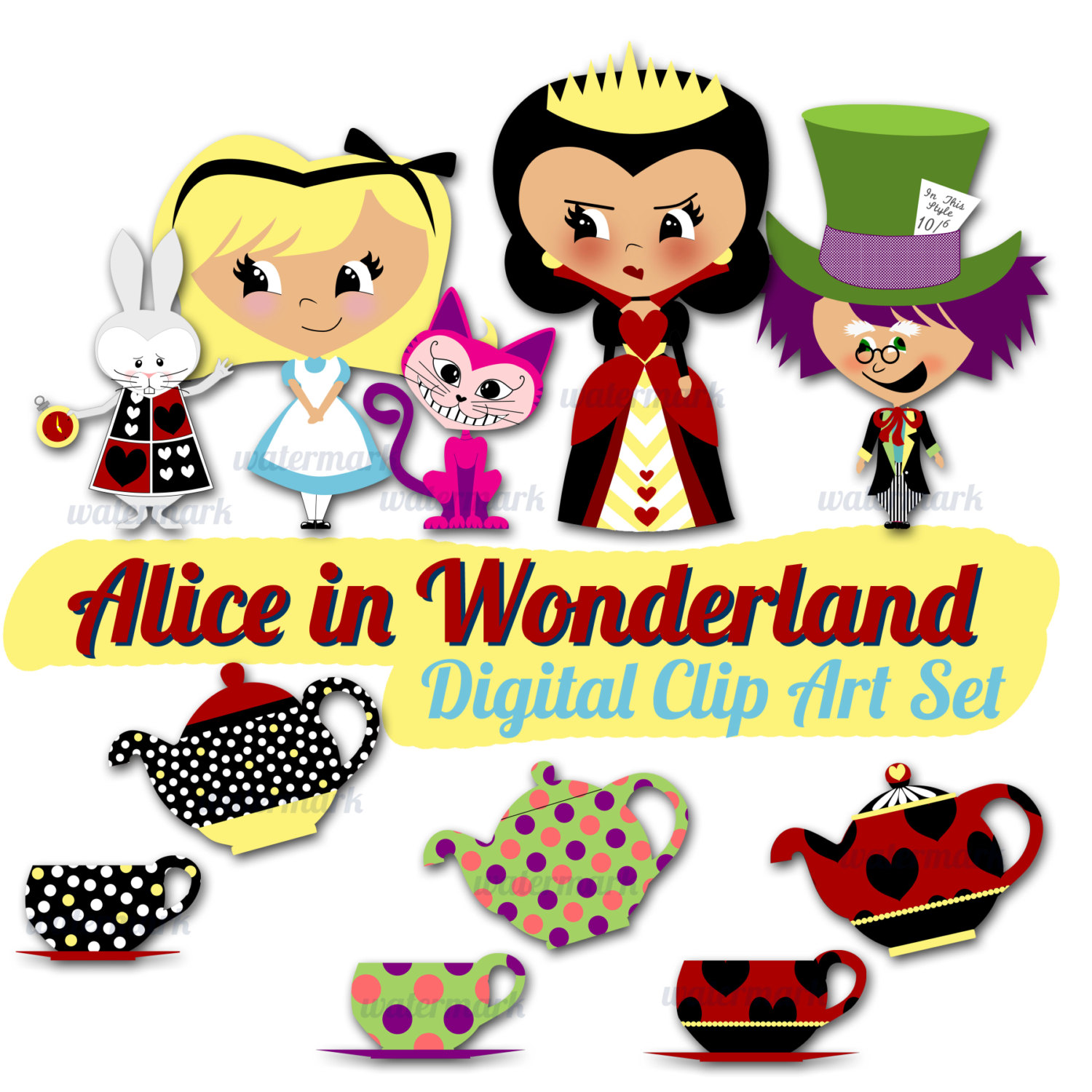 Wonderland clipart #19, Download drawings