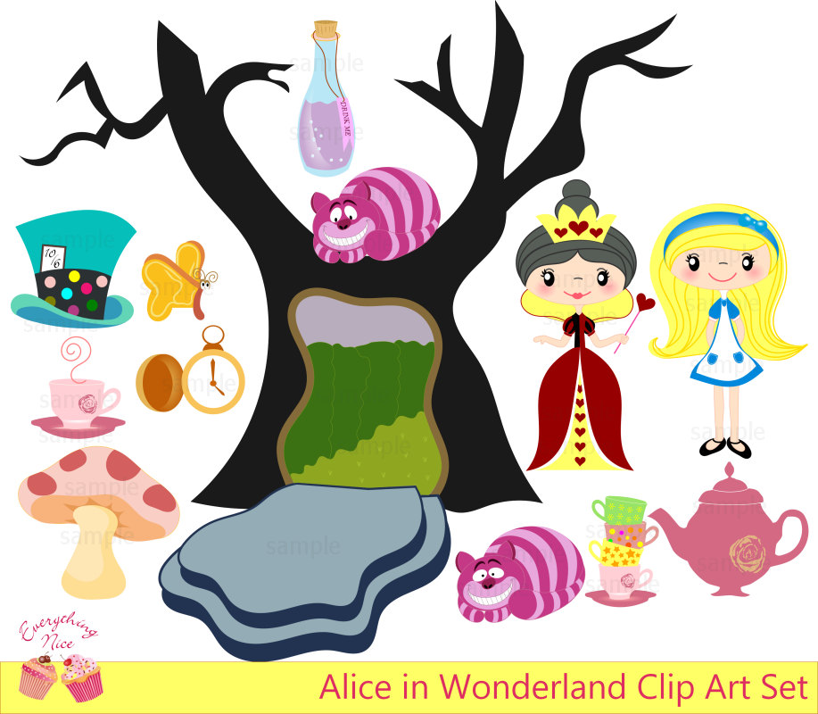 Wonderland clipart #7, Download drawings