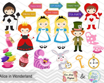 Wonderland clipart #20, Download drawings
