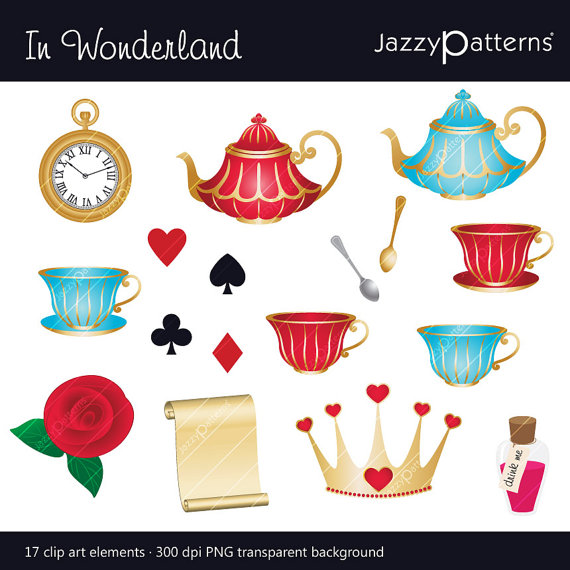 Wonderland clipart #6, Download drawings