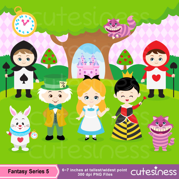 Wonderland clipart #8, Download drawings
