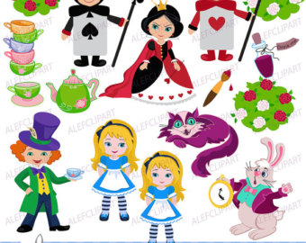 Wonderland clipart #3, Download drawings