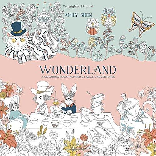 Wonderland coloring #8, Download drawings