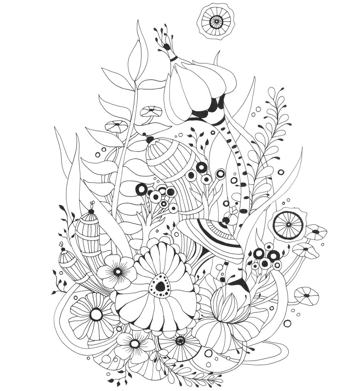 Wonderland coloring #15, Download drawings