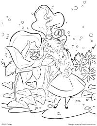 Wonderland coloring #17, Download drawings