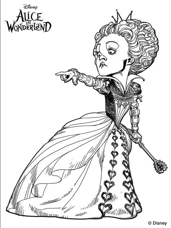 Wonderland coloring #7, Download drawings