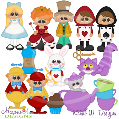 Wonderland svg #1, Download drawings