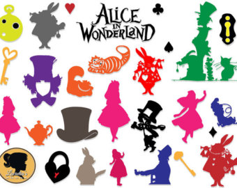 Wonderland svg #20, Download drawings