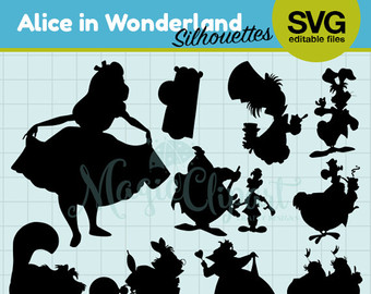 Wonderland svg #19, Download drawings