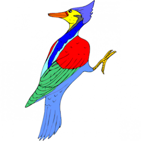 Woodpecker clipart #5, Download drawings