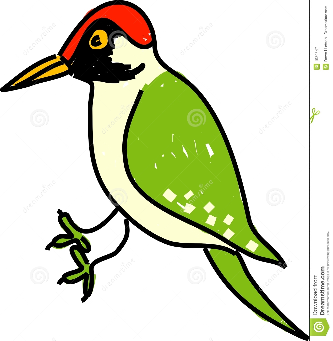 Woodpecker clipart #9, Download drawings