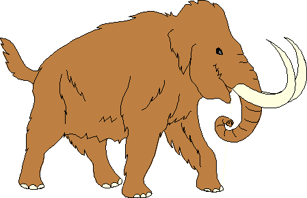 Woolly Mammoth clipart #4, Download drawings