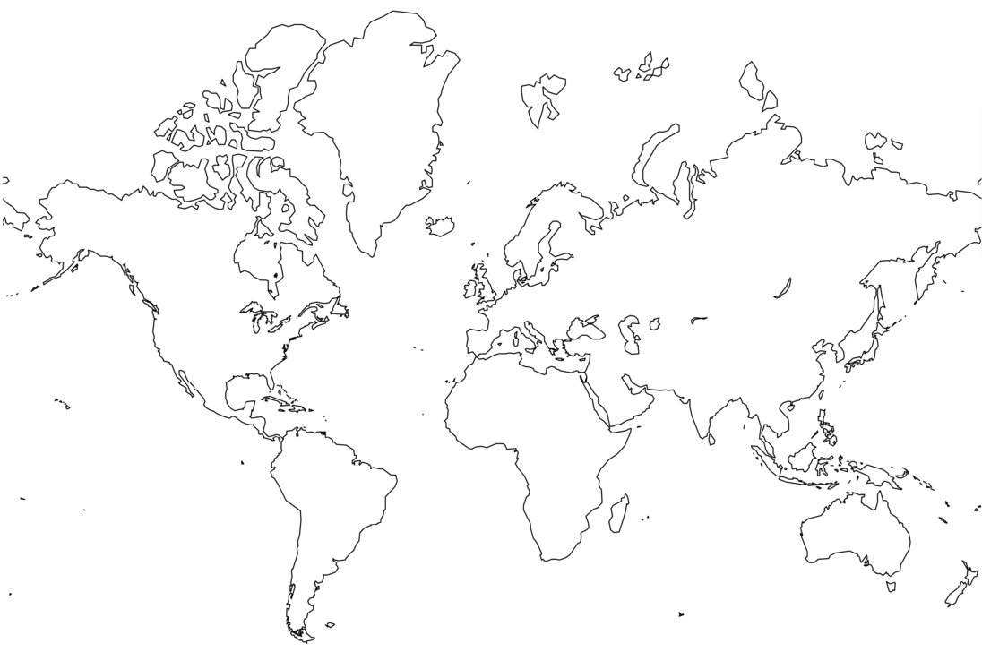 World Map coloring #15, Download drawings