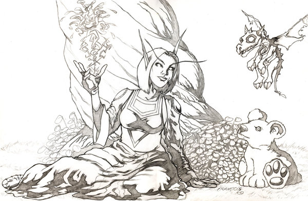 World Of Warcraft coloring #5, Download drawings