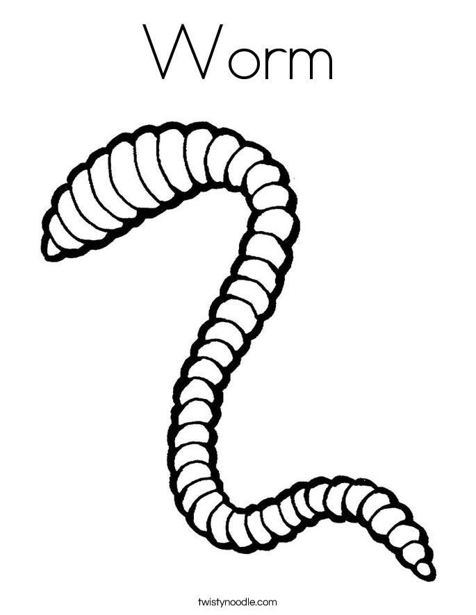 Worm coloring #15