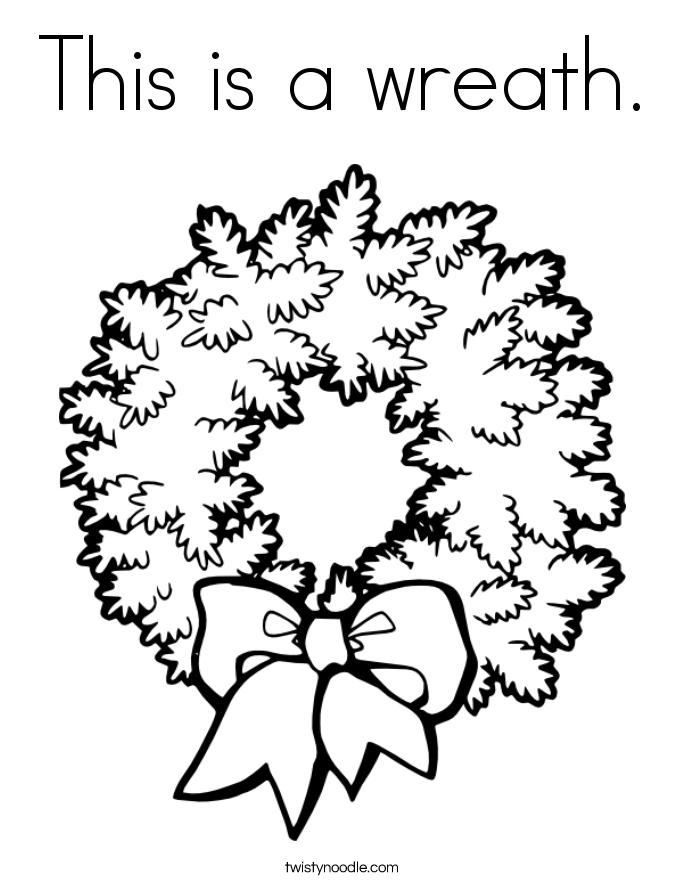 Wreath coloring #7, Download drawings