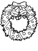 Wreath coloring #9, Download drawings