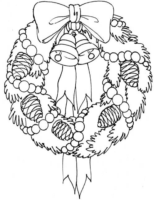 Wreath coloring #16, Download drawings