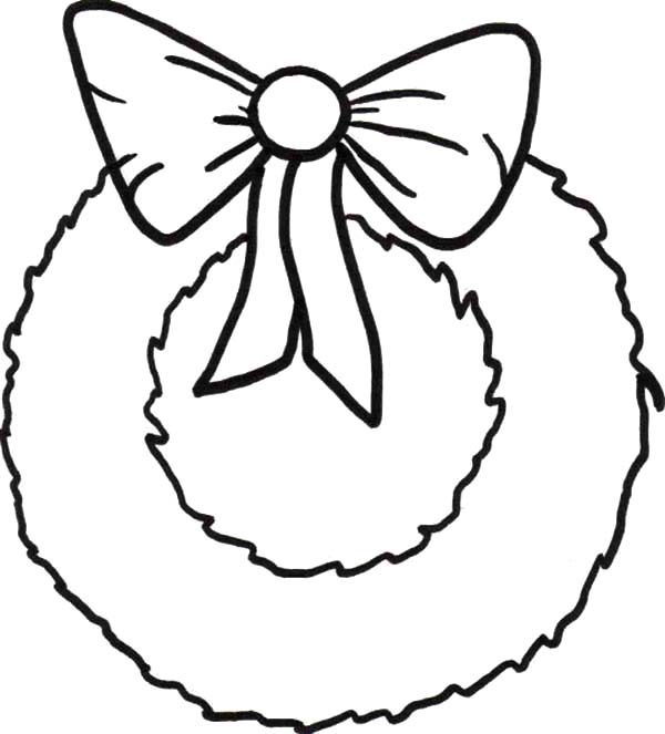Wreath coloring #19, Download drawings