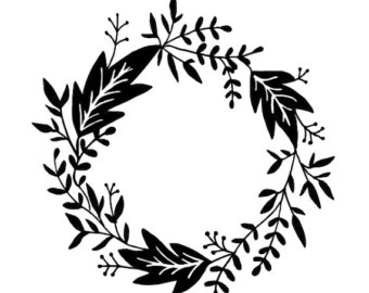 Wreath svg #16, Download drawings