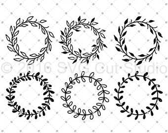 Wreath svg #9, Download drawings