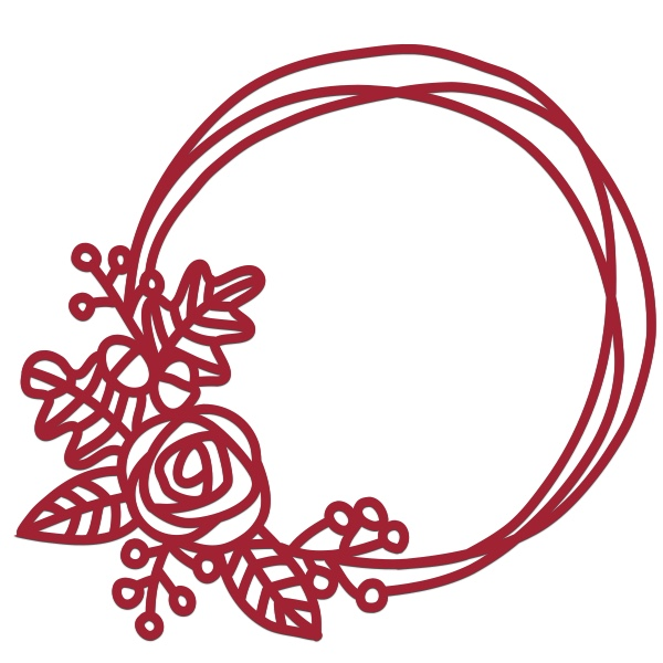 Wreath svg #2, Download drawings