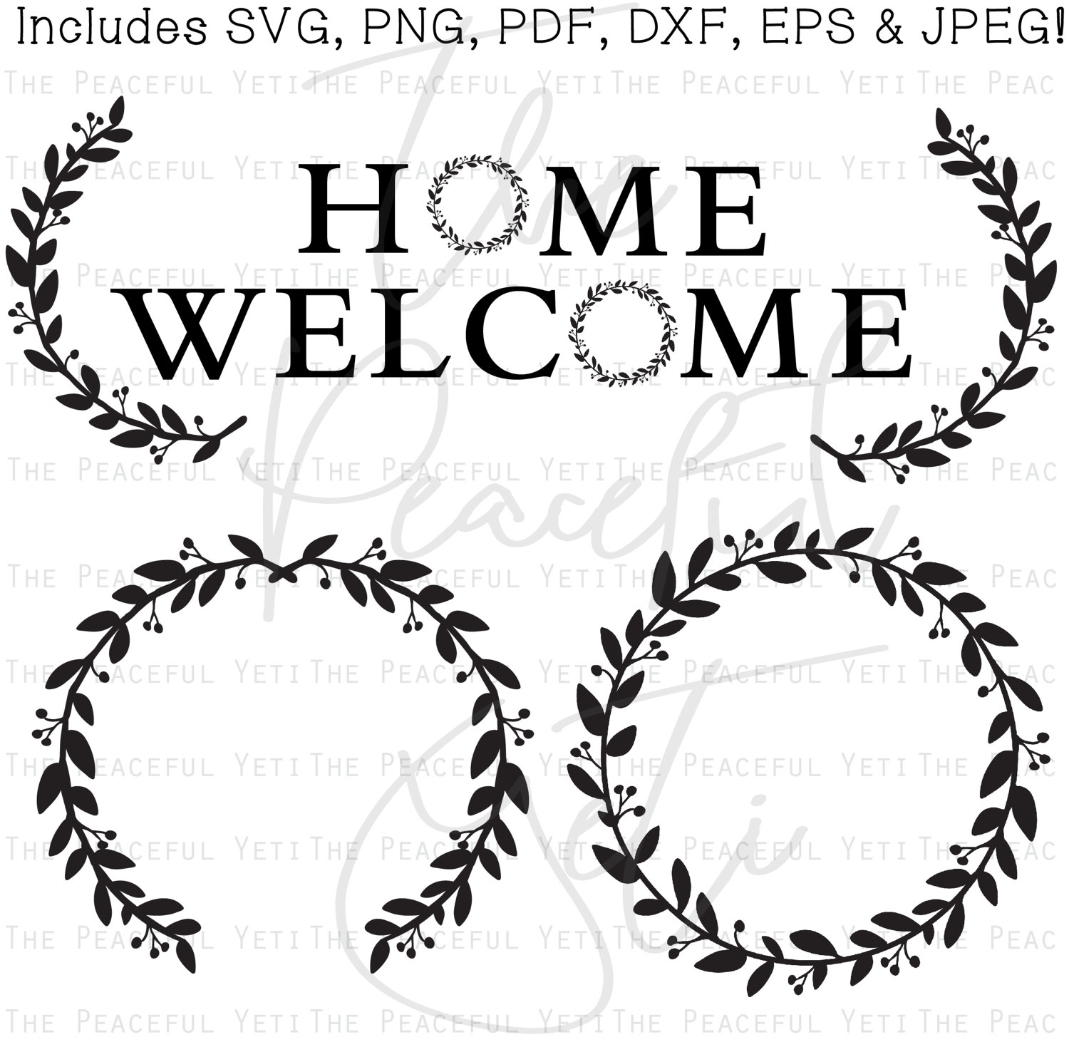 Wreath svg #13, Download drawings