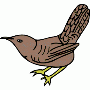 Wren clipart #15, Download drawings