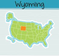 Wyoming clipart #5, Download drawings