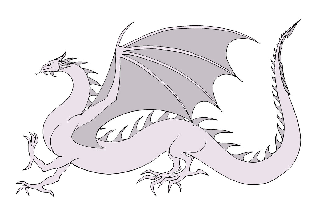 Wyrm coloring #1