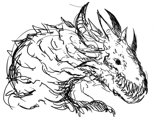 Wyrm coloring #4