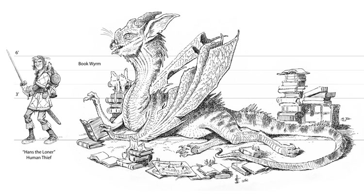 Wyrm coloring #14, Download drawings