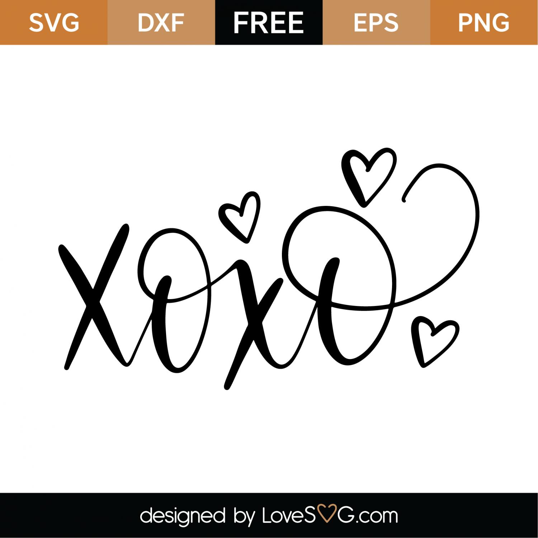 xoxo svg #1166, Download drawings