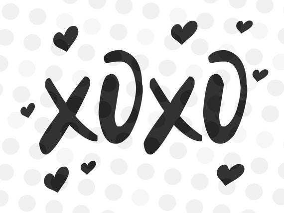 xoxo svg #1174, Download drawings