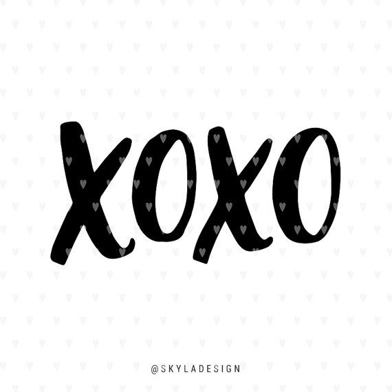 xoxo svg #1170, Download drawings