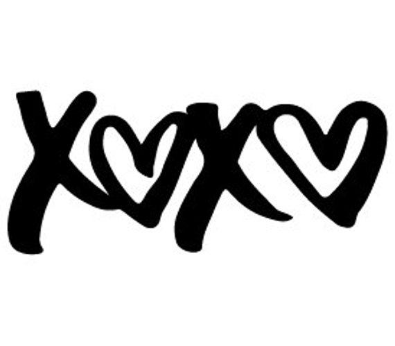 xoxo svg #1173, Download drawings